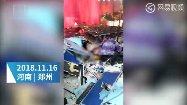 Video: Hôn trường tan hoang sau vụ nổ.