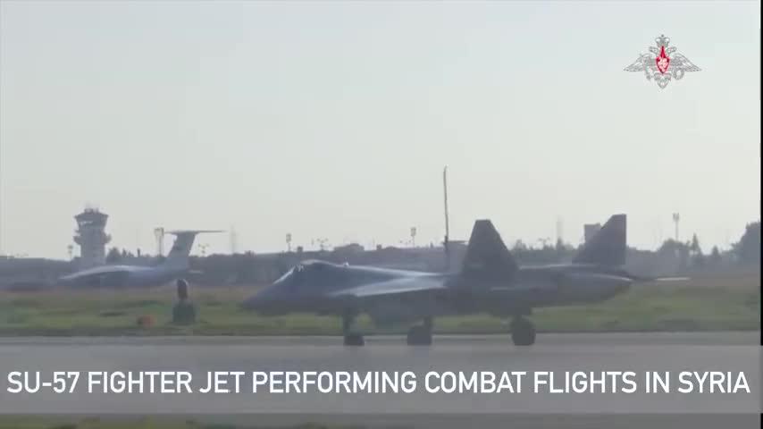 Tiêm kích tàng hình Su-57 Nga thực hiện phi vụ đầu tiên tại Syria