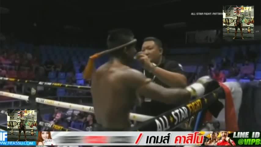 Buakaw vs Dambo