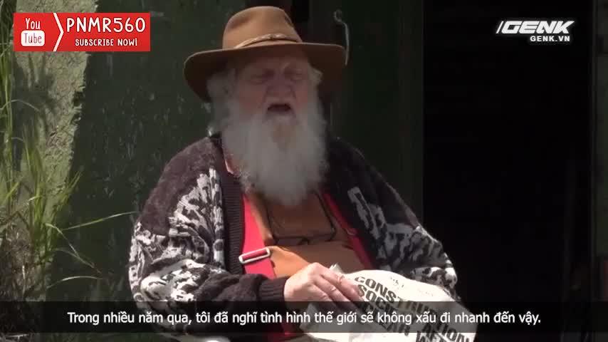 [Vietsub] Cụ ông 83 tuổi dành 50 năm để xây dựng hầm trú ẩn hạt nhân từ 42 chiếc xe buýt