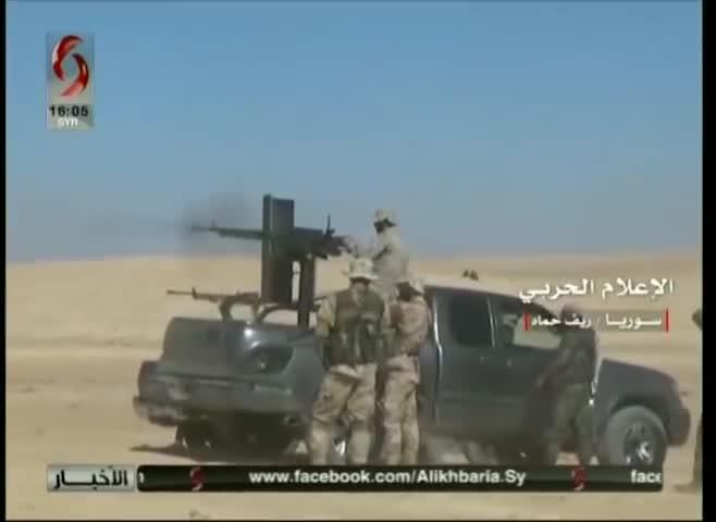Quân đội Syria bắt đầu tiến hành các cuộc tấn công hạn chế vào lực lượng Hồi giáo cực đoan trên vùng nông thôn miền bắc Hama