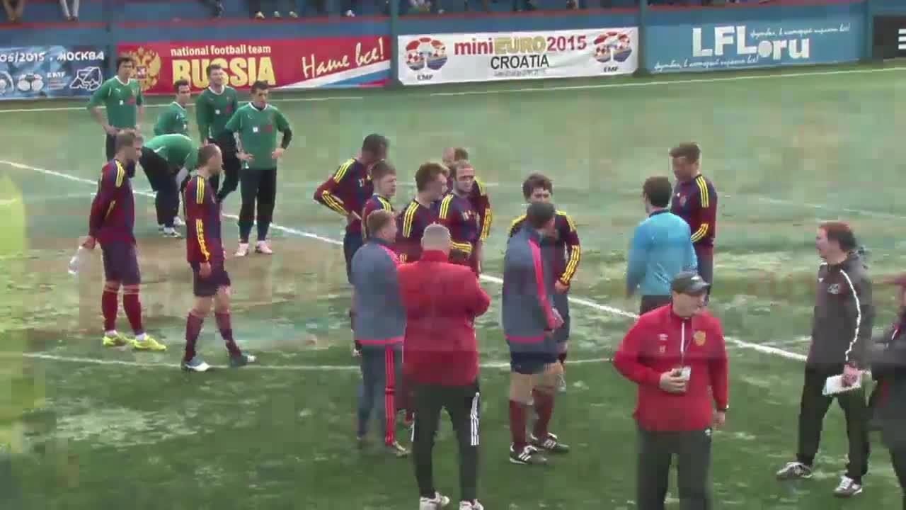 Đặng Văn Lâm cản phá penalty xuất sắc và được phỏng vấn tại Nga