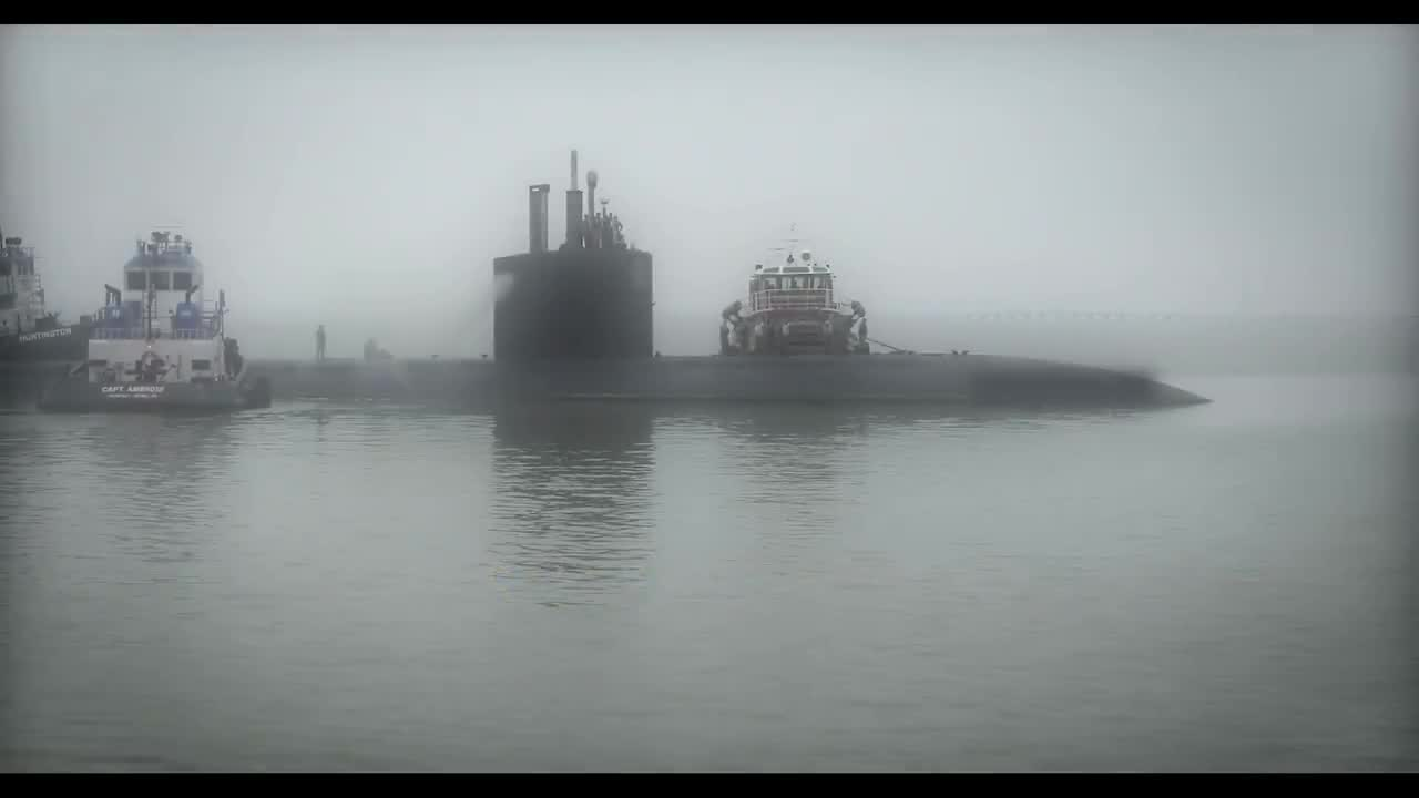 Tàu ngầm tấn công USS Boise được đưa vào xưởng sửa chữa