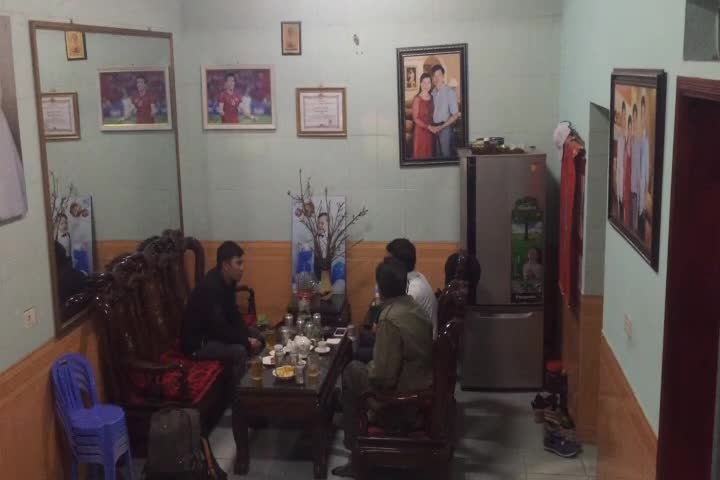 Bố cầu thủ Quế Ngọc Hải chia sẻ về con trai.