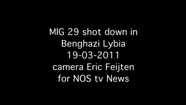 MiG-29 bị bắn hạ ở Lybia ngày 19/03/2011.