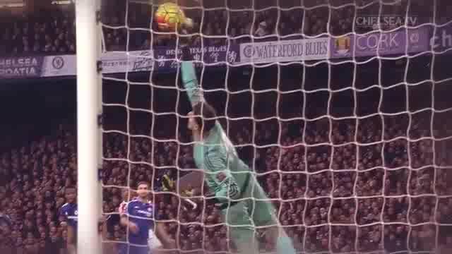 Chelsea tung clip tri ân Courtois