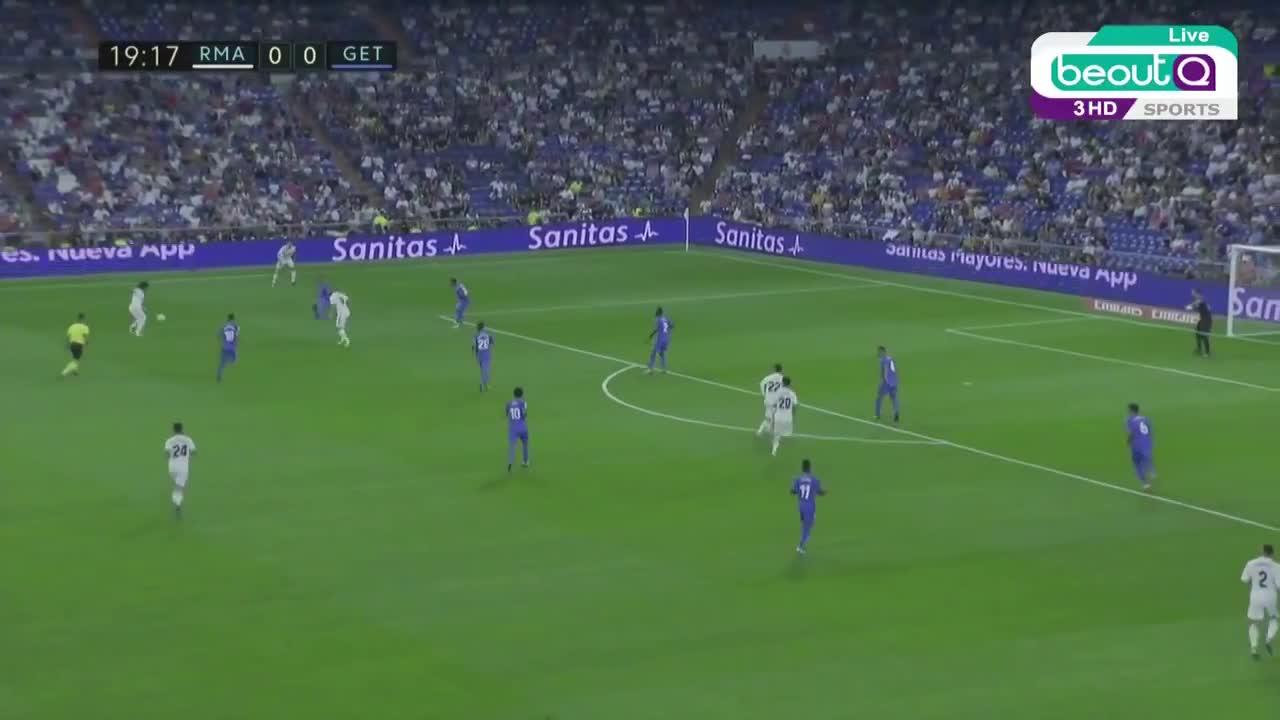 La Liga vòng 1: Real Madrid 2-0 Getafe