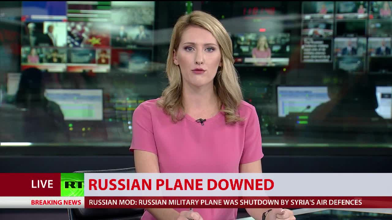 Máy bay trinh sát IL-20 của Nga bị bắn rơi bởi tên lửa phòng không S-200 Syria