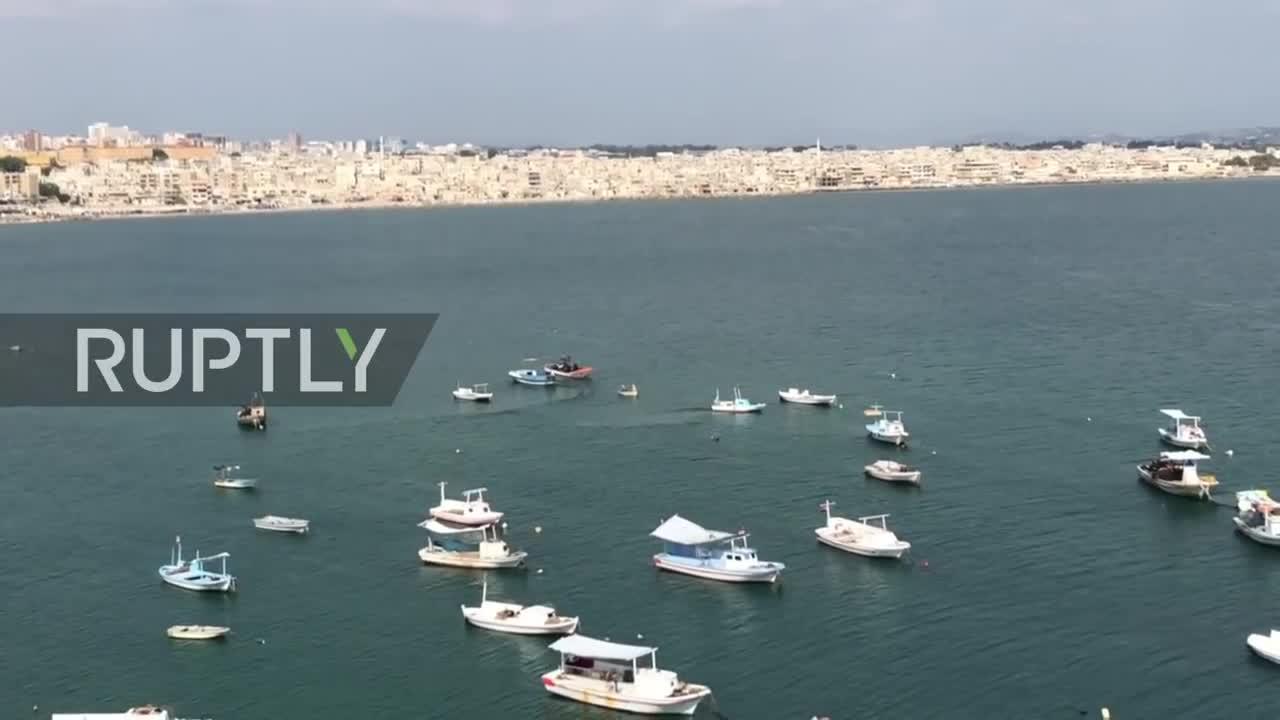 Người dân Syria kể lại khoảnh khắc máy bay chiến đấu Israel tập kích Latakia.