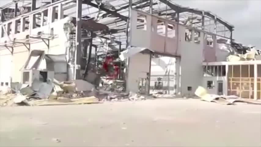 Syria công bố video chứng minh địa điểm bị Israel tấn công là nhà máy nhôm chứ không phải kho vũ khí
