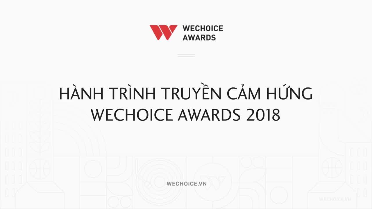 Hành trình truyền cảm hứng WeChoice Awards 2018 - Phiên bản WeTalk tháng 9