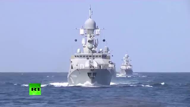 Tàu chiến Nga phóng tên lửa hành trình tấn công quân khủng bố ở Syria