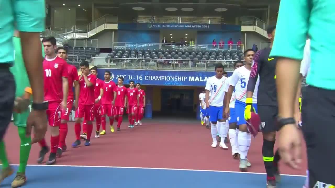 Bảng C VCK U16 châu Á: U16 Iran 0-0 U16 Ấn Độ