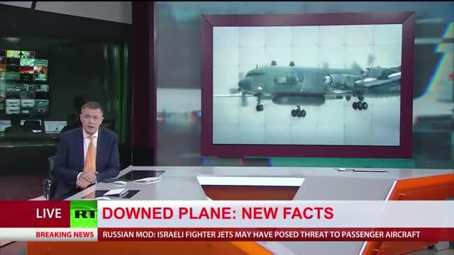Kênh RT trực tiếp Bộ Quốc phòng Nga thông báo chi tiết vụ bắn nhầm máy bay IL-20