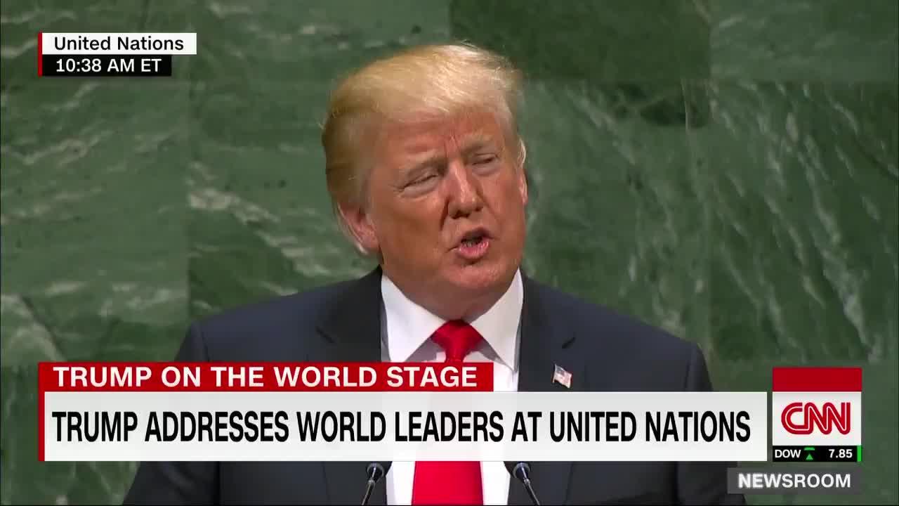 Các đại biểu LHQ bật cười trước lời phát biểu về thành tựu của ông Trump