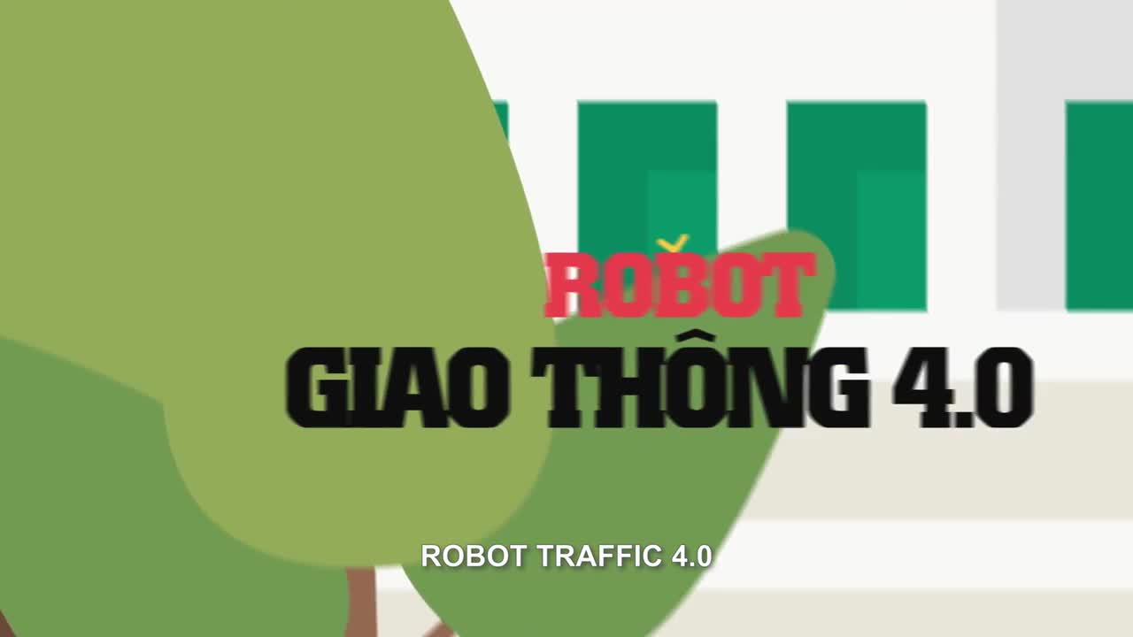 robot giao thông - official