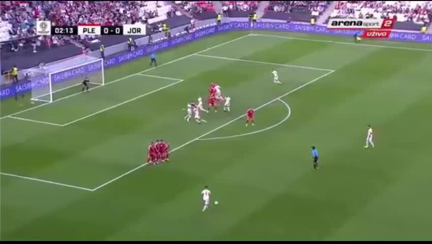 Bảng B Asian Cup 2019: Palestine 0-0 Jordan