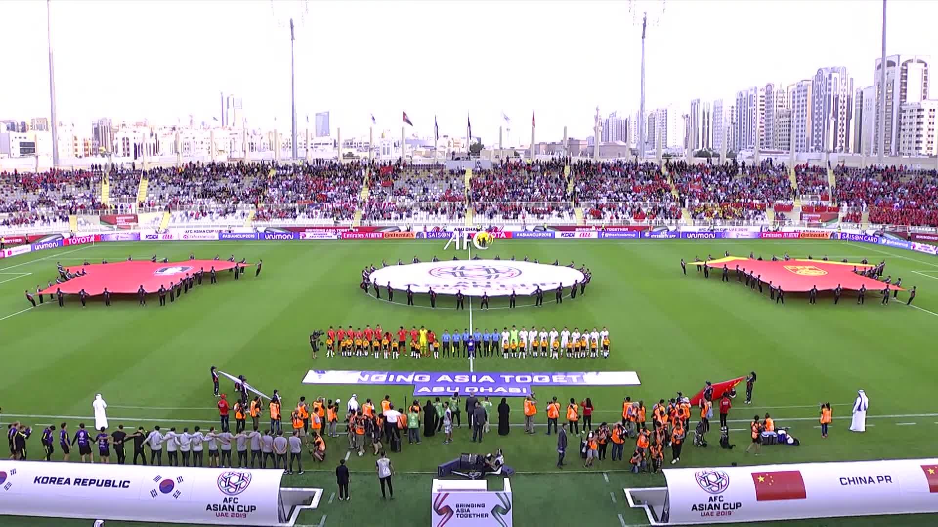 Bảng C Asian Cup 2019: Hàn Quốc 2-0 Trung Quốc (nguồn: AFC)