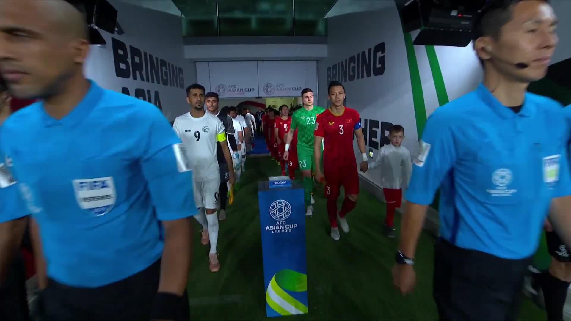 Bảng D Asian Cup 2019: Việt Nam 2-0 Yemen (nguồn: AFC)