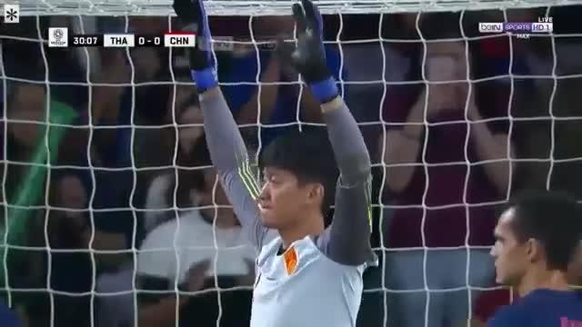 Vòng 1/8 Asian Cup 2019: Thái Lan mở tỷ số trước Trung Quốc (31')