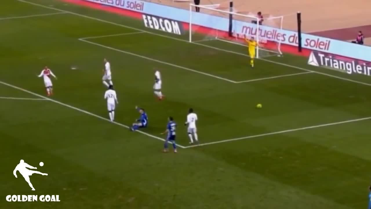 Vòng 21 Ligue 1: Monaco 1-5 Strasbourg