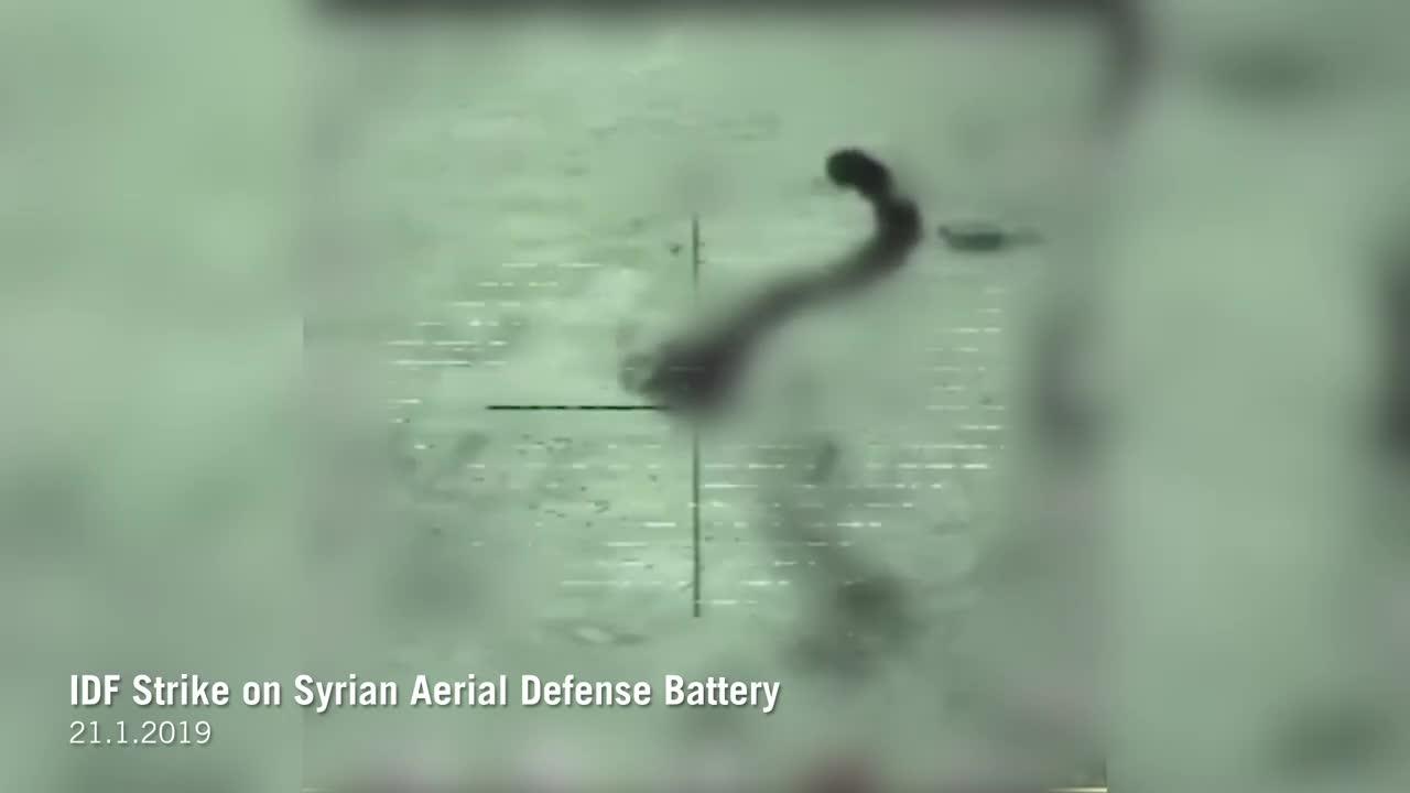 Israel tiêu diệt 1 tổ hợp pháo - tên lửa phòng không Pantsir-S1 của Syria.