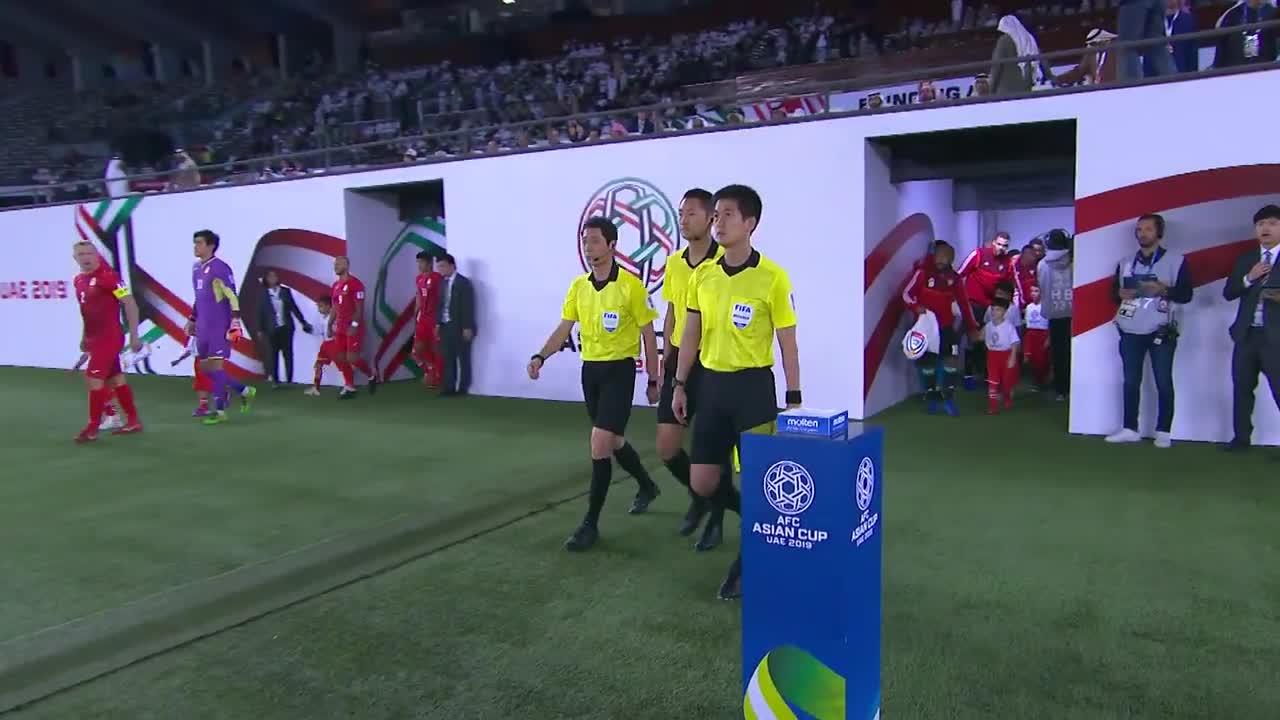 Vòng 1/8 Asian Cup 2019: UAE 3-2 Kyrgyzstan (nguồn: AFC)