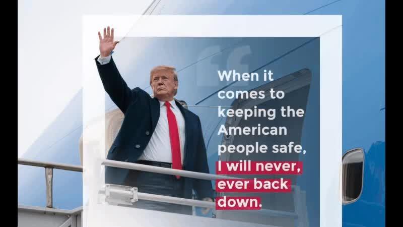 Hình ảnh ông Trump trước và sau chỉnh sửa.
