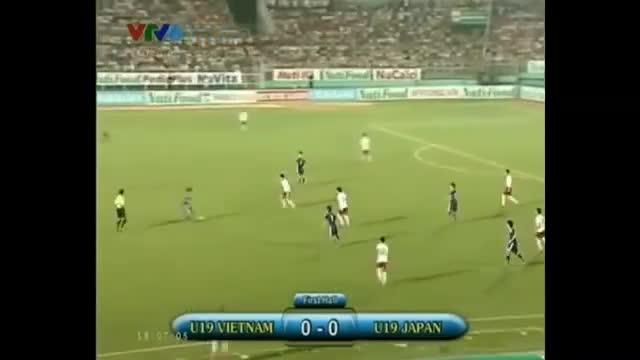 U19 Việt Nam 0-7 Nhật Bản