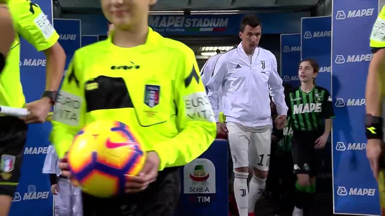 Vòng 23 Serie A: Sassuolo 0-3 Juventus