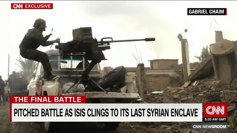 Những trận chiến chống IS cuối cùng tại Syria. Nguồn: CNN