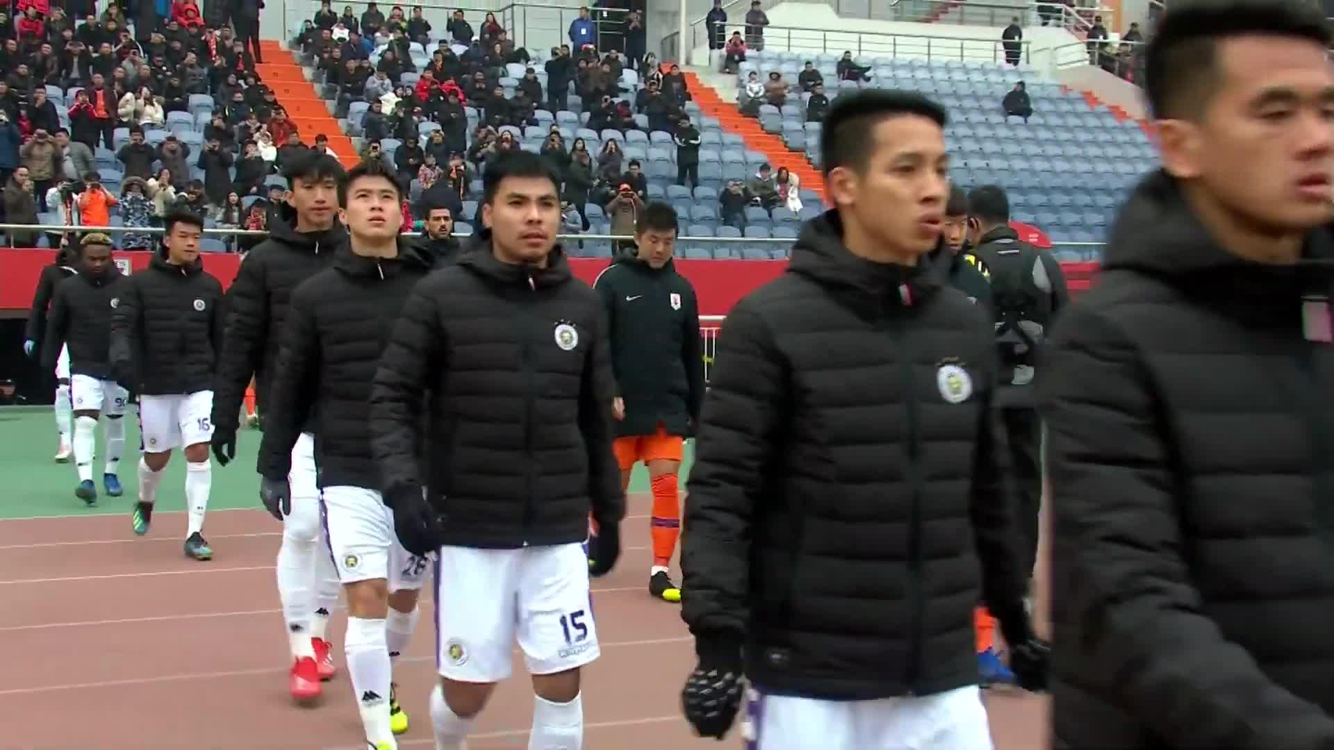 Play-off AFC Champions League: Sơn Đông Lỗ Năng 4-1 CLB Hà Nội (nguồn: AFC)