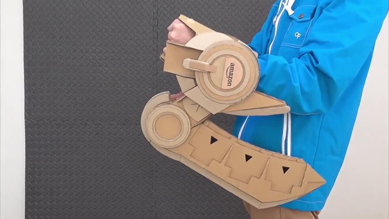 Hướng dẫn làm bàn đấu bài Duel Disk bằng bìa các tông