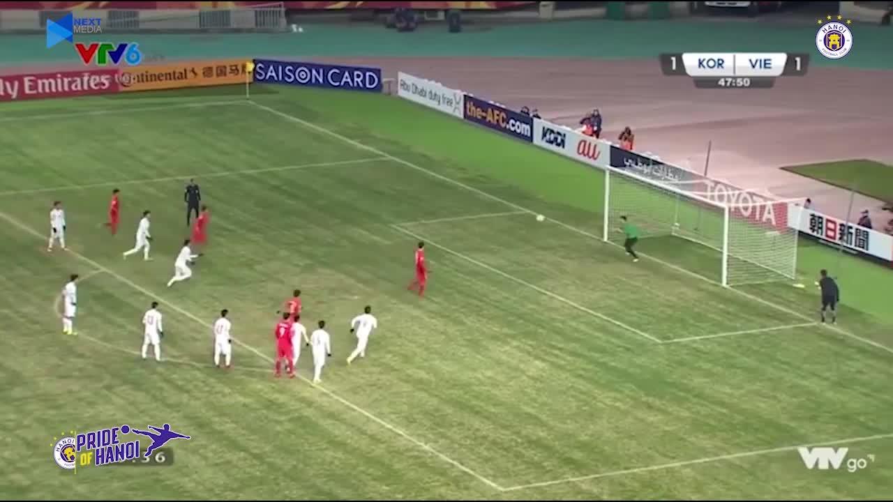 Những pha cứu thua giúp Bùi Tiến Dũng vươn tầm ngôi sao ở U23 Châu Á