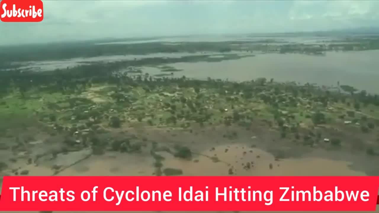 Lốc xoáy đổ bộ Zimbabwe