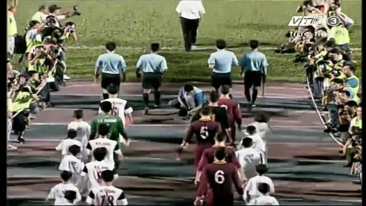 U19 Việt Nam 1-2 U19 AS Roma (U19 Quốc tế - Cúp Nutifood 6/1/2014)