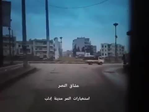 Điệp viên của Lực lượng Tiger hoạt động trong lòng Idlib do đối lập kiểm soát.