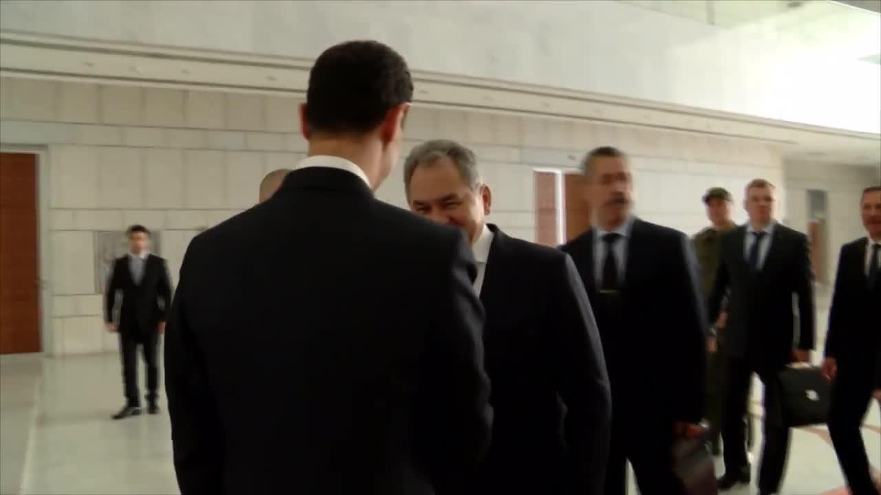 Bộ trưởng BQP Nga Shoigu tới Syria gặp TT Assad