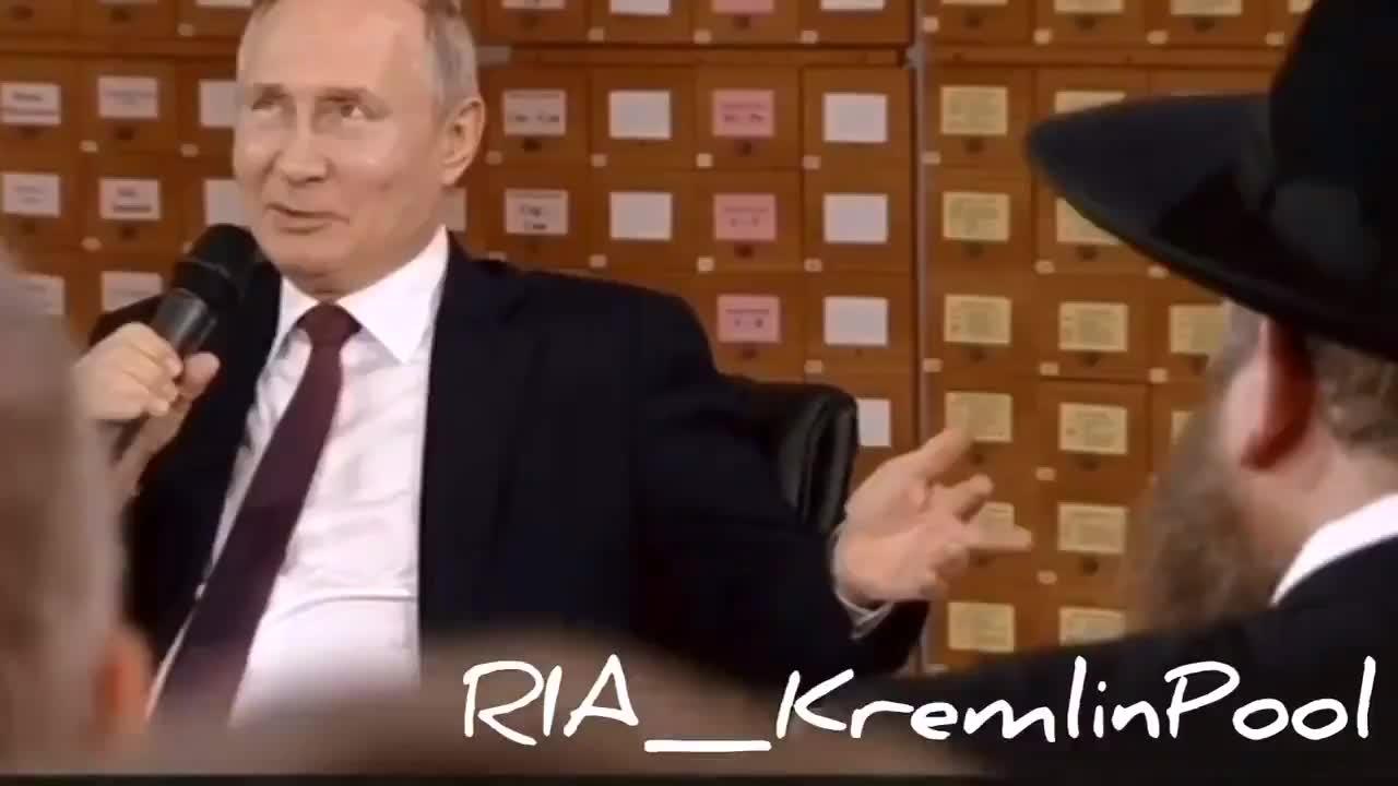 Ông Putin nói đùa về người Do Thái