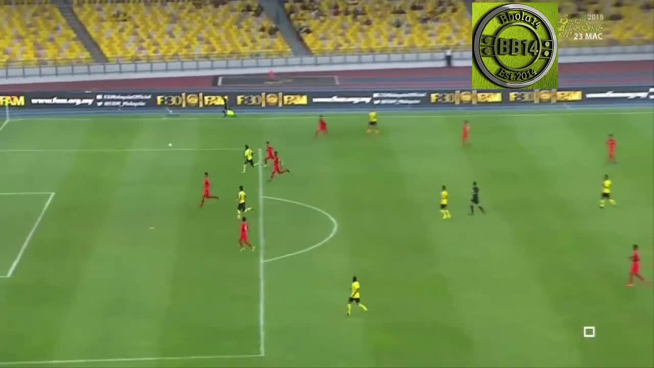Giao hữu quốc tế: Malaysia 0-1 Singapore