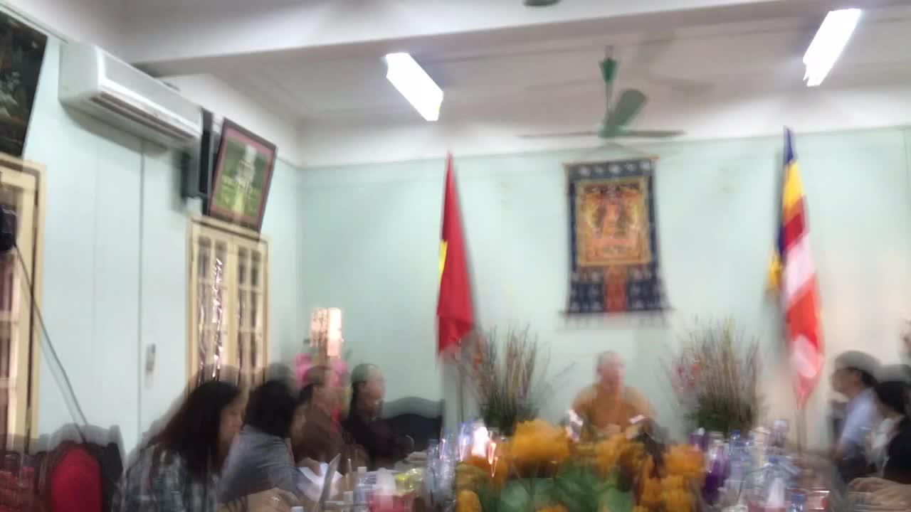 Thượng tọa Thích Đức Thiện - Tổng Thư ký Hội đồng Trị sự Giáo hội Phật giáo Việt Nam nói về việc thỉnh vong chùa Ba Vàng.