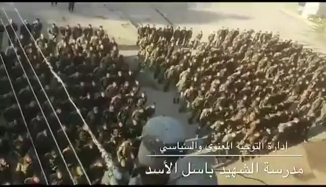 """Lực lượng bán vũ trang """"Quân đội giải phóng Palestine"""" được Iran hậu thuẫn trong một video ngày 21/3."""