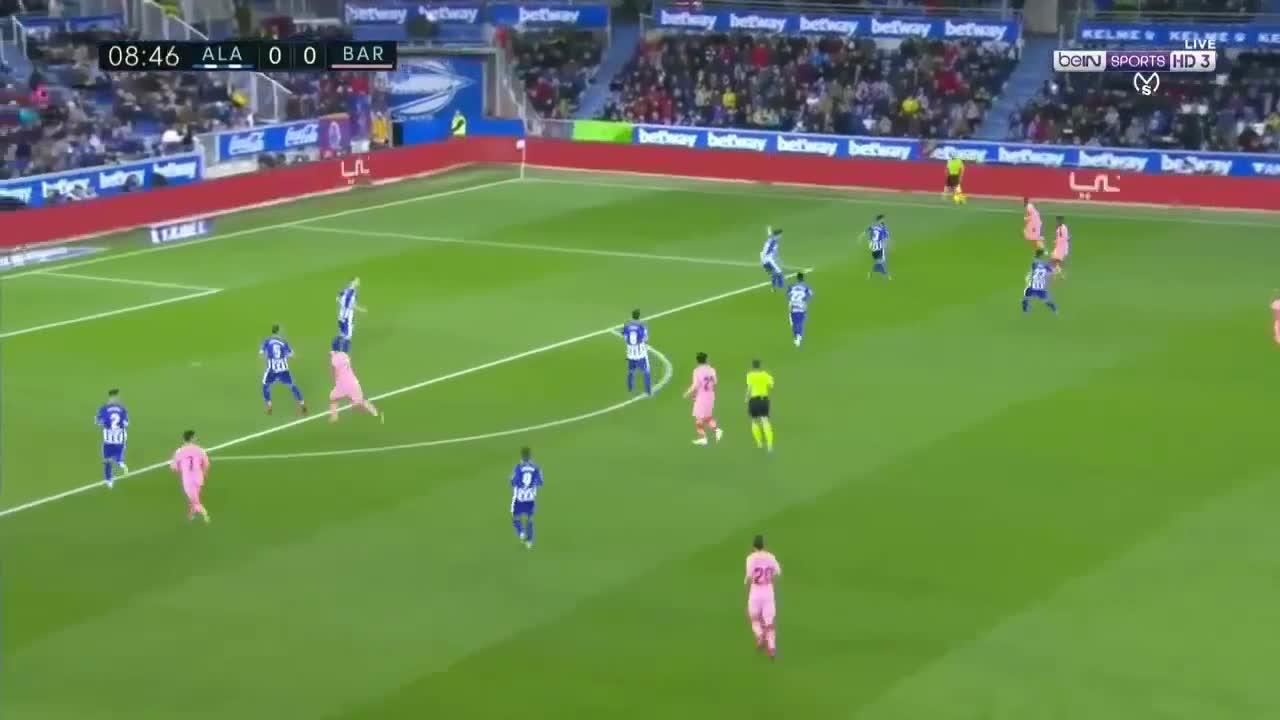 Vòng 34 La Liga 2018/19: Alaves 0-2 Barcelona