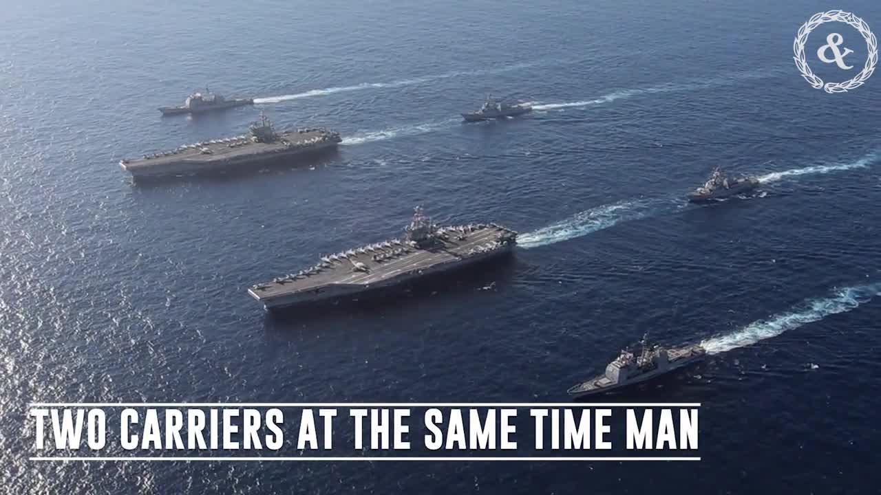 Hai tàu sân bay Mỹ triển khai tới Địa Trung Hải nhằm gửi thông điệp mạnh mẽ tới Nga