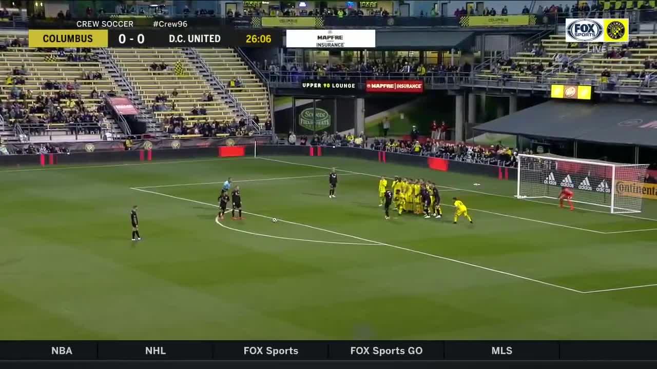 Rooney đá phạt ghi bàn duy nhất giúp DC United thắng Columbus Crew 1-0