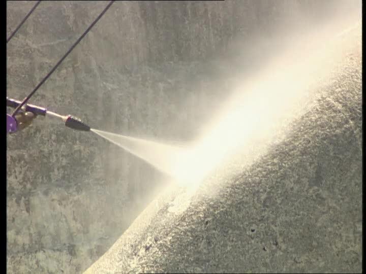 Sử dụng công nghệ Steam Cleaning trên núi Rushmore huyền thoại Hoa Kỳ