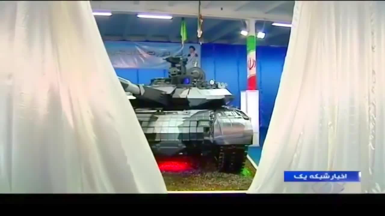Video giới thiệu xe tăng chủ lực Karrar của Iran