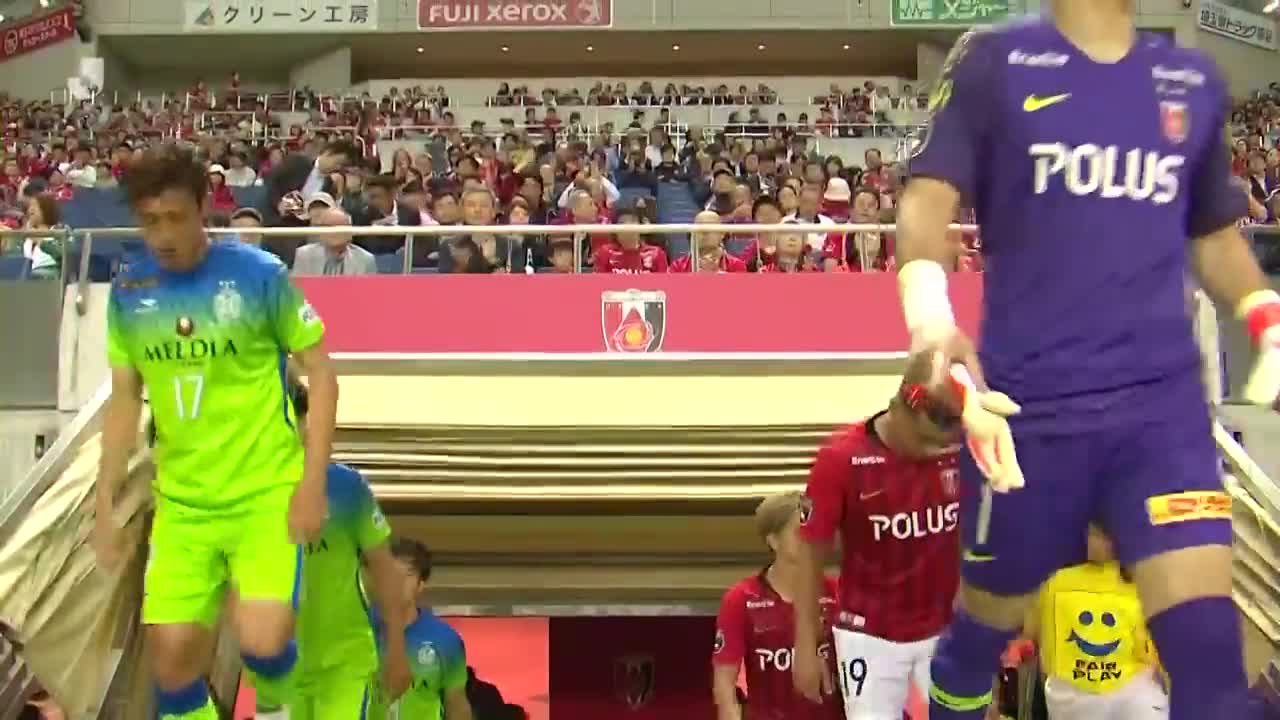 Vòng 12 J.League 2019: Urawa Red 2-3 Shonan Bellmare