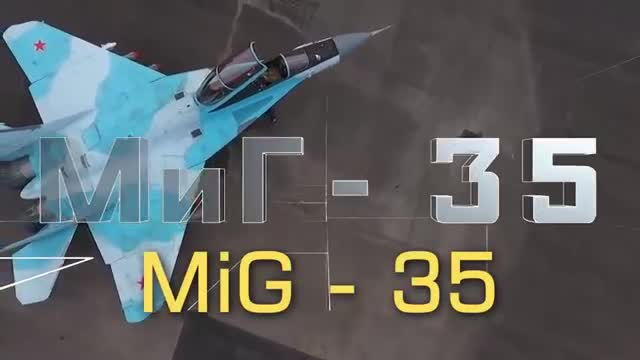 Cận cảnh góc cạnh tiêm kích MiG-35.