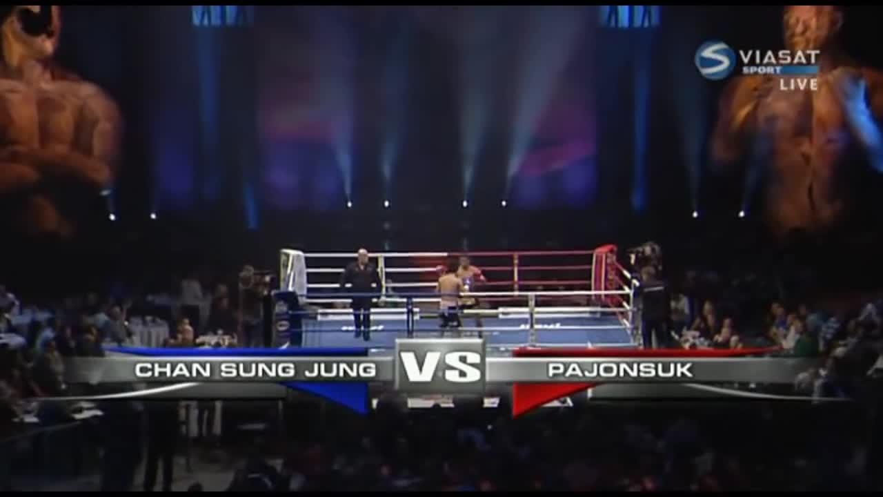 Trận đấu giữa võ sĩ MMA Chan sung-jung và nhà vô địch Muay Thái Pajonsuk